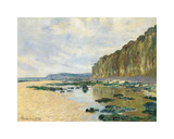 Low Tide at Varengeville, 1882 Premium Giclee Print by Claude Monet