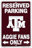 Aggie Fans - TexasA&M Tin Sign