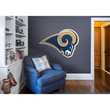 NFL Los Angeles Rams 2016 RealBig Logo Wall Decal