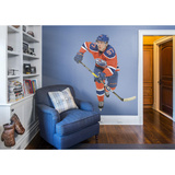 NHL Connor McDavid 2015-2016 Orange RealBig Adhésif mural