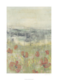 Wildflower Scape I Limited Edition by Jennifer Goldberger