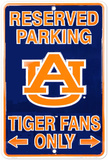 Tiger Fans - Auburn Tin Sign