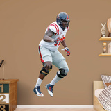 NCAA Laremy Tunsil Ole Miss Rebels RealBig Wall Decal