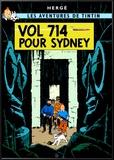 Vol 714 pour Sydney, c.1968 Poster by  Hergé (Georges Rémi)