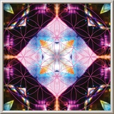 Crystal Refraction 10 Prints by Jeff Leland