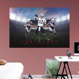 NFL Tom Brady 2015 Montage RealBig Mural Vægplakat