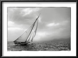 Classic Yacht Print by Philip Plisson