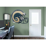 NFL Los Angeles Rams 2016 RealBig Revolution Helmet Wall Decal