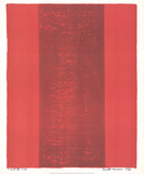 Canto XV Collectable Print by Barnett Newman