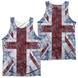 The Who- Distressed Union Jack (Front/Back) Tank Top