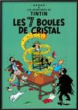 Les 7 Boules de Cristal, c.1948 Posters by  Hergé (Georges Rémi)