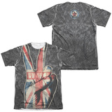 The Who- Peace Jack (Front/Back) Sublimated