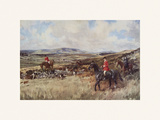The Waterford Premium Giclee Print by Lionel Edwards