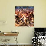 Marvel Captain America Civil War Battle RealBig Mural Wall Mural