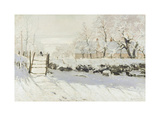 The Magpie Premium Giclee Print by Claude Monet
