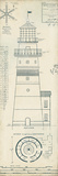 The Vintage Collection - Lighthouse Plans III - Giclee Baskı