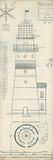 Lighthouse Plans III Lámina giclée por The Vintage Collection
