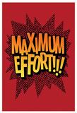 Maximum Effort!!! (Deep Red) Fotografie