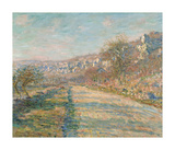 Road of La Roche-Guyon, 1880 Premium Giclee Print by Claude Monet