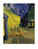 The Cafe Terrace On The Place Du Forum, Arles Særudgave af Vincent van Gogh