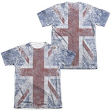 The Who- Distressed Union Jack (Front/Back) Sublimated