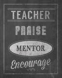Inspiring Teacher II Giclee Print by Tom Frazier