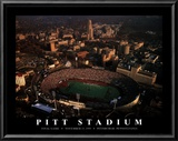 Pitt Stadium: Final Game Poster by Mike Smith