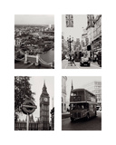 London Composite Prints by Joseph Eta