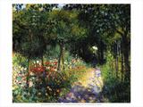 Woman in the Garden, 1873 Posters af Pierre-Auguste Renoir