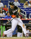 Giancarlo Stanton 2015 Action Photo