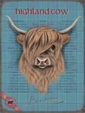 Highland Cow Tin Sign