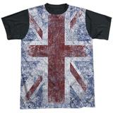 The Who- Distressed Union Jack (Black Back) Sublimated