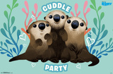 Finding Dory- Cuddle Party Print