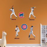 MLB Chicago Cubs 2016 Power Pack RealBig Wall Decal