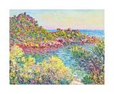 Landscape Near Montecarlo, 1883 Premium Giclee Print by Claude Monet