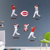 MLB Cincinnati Reds 2016 Power Pack RealBig Wall Decal