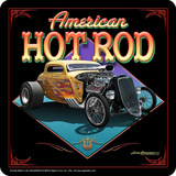 American Hot Rod Tin Sign