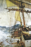 The Rising Wind Giclee Print by Montague Dawson