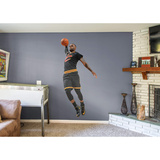 NBA LeBron James 2015-2016 Black RealBig Wall Decal