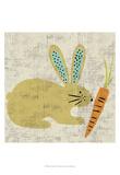 Ada's Bunny Prints by Chariklia Zarris