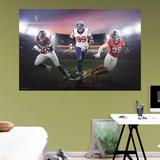 NFL J.J. Watt 2015 Montage RealBig Mural Bildetapet