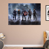 Marvel Captain America Civil War Team Cap RealBig Mural Wall Mural