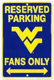 WVU Fans Tin Sign