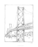 Suspension Bridge Study II Limited Edition by Ethan Harper