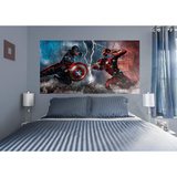 Marvel Captain America Civil War Faceoff RealBig Mural Wall Mural