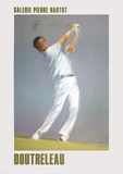 Golf Player Collectable Print by Pierre Doutreleau