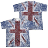 Youth: The Who- Distressed Union Jack (Front/Back) T-shirts