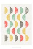 Mod Block Prints II Posters by Grace Popp