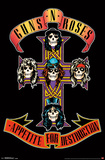 Guns N' Roses- Appetitie For Destruction Cross Posters