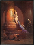 Egyptian Princess (cover art for Eerie 23 and Creepy 92) Posters by Frank Frazetta
